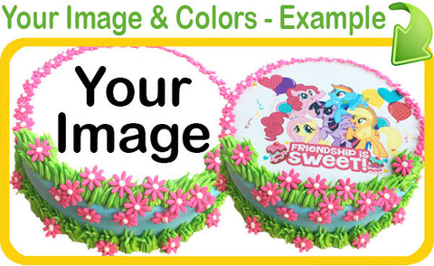 Spring Flowers Custom Template
