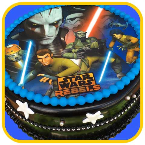 Star Wars Rebels Cake