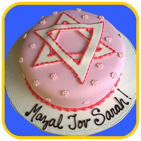 Star of David - The Office Cake Delivery Miami - Cakes