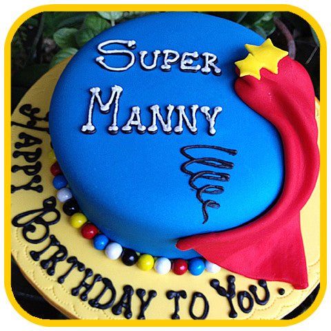 Super Cake - The Office Cake Delivery Miami - Cakes
