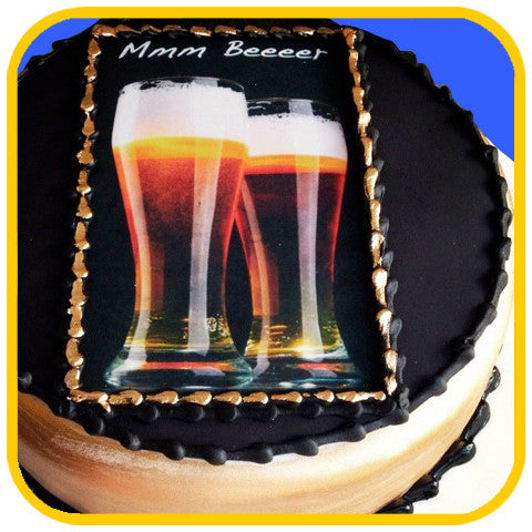 Beer Cake - The Office Cake Delivery Miami - Cakes