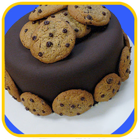 The Cookie Monster - The Office Cake Delivery Miami - Cakes
