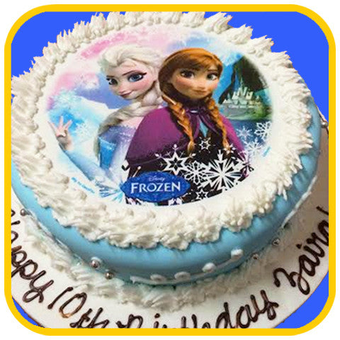 Frozen Movie - The Office Cake Delivery Miami - Cakes