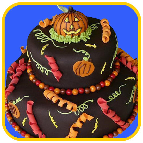 """The"" Halloween Cake - The Office Cake Delivery Miami - Cakes"