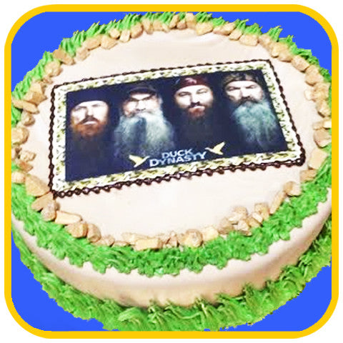 Duck Dynasty Cake - The Office Cake Delivery Miami - Cakes