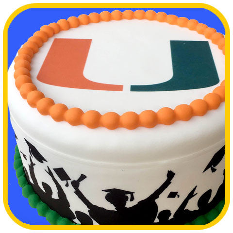 Graduation Logo - The Office Cake Delivery Miami - Cakes