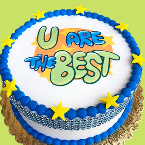 U are the Best Cake