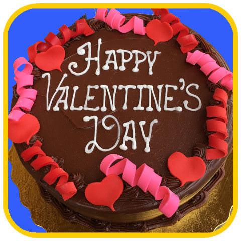 Chocolate Valentine Cake