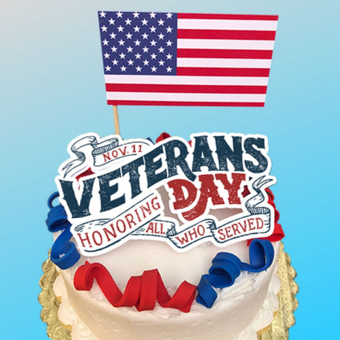 Veterans Day Cake November 11