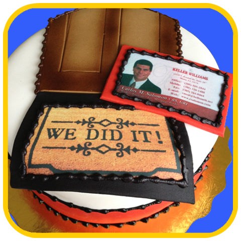 Keller Williams - The Office Cake Delivery Miami - Cakes