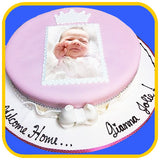 Custom Photo Print Cake - The Office Cake Delivery Miami - Cakes - 3