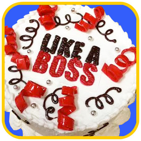 Like a Boss - The Office Cake Delivery Miami - Cakes