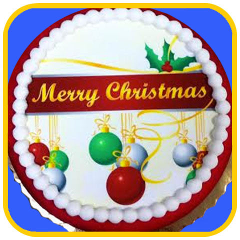 Merry Christmas Cake - The Office Cake Delivery Miami - Cakes