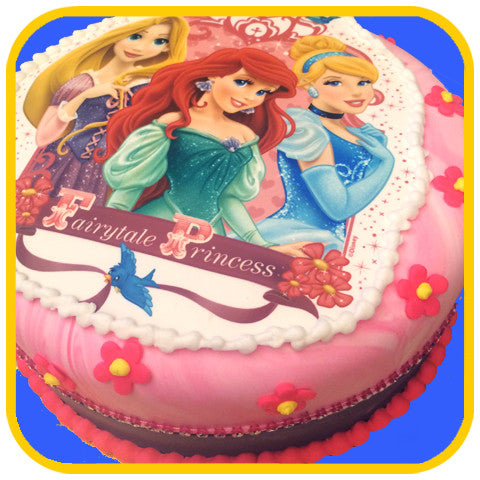 Fairy Tale Princesses - The Office Cake Delivery Miami - Cakes - 1