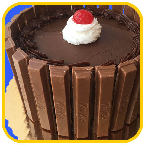 Chocolate Kit Kat Cake