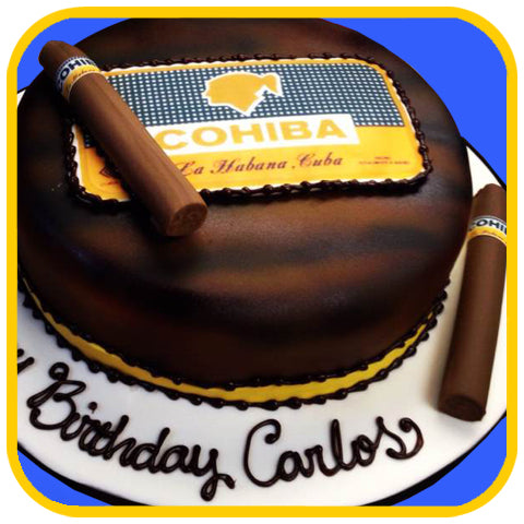 Cohiba - The Office Cake Delivery Miami - Cakes