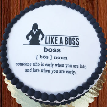 Definition of Boss Female