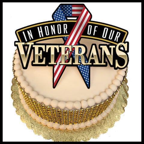 Honor of a Veteran Cake