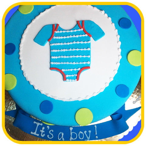 Baby Onesie - The Office Cake Delivery Miami - Cakes