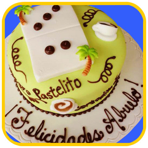 El Cubano - The Office Cake Delivery Miami - Cakes