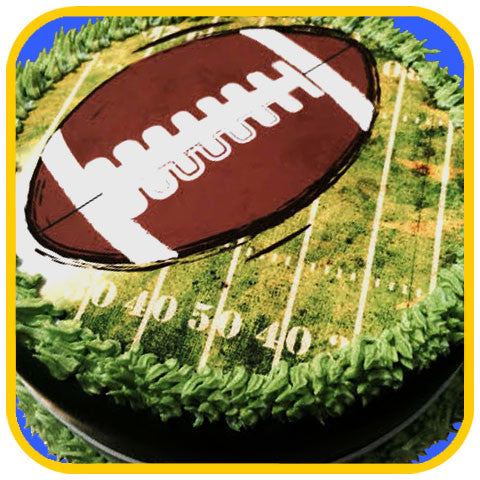 Football Cake - The Office Cake Delivery Miami - Cakes