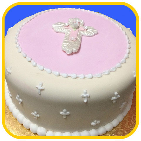 Cross Pink - The Office Cake Delivery Miami - Cakes