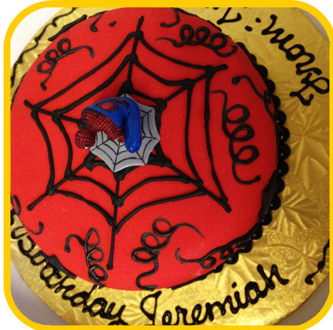 Spiderman - The Office Cake Delivery Miami - Cakes