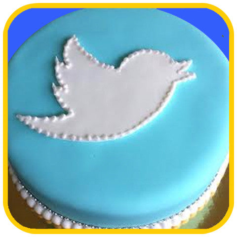 Twitter Cake - The Office Cake Delivery Miami - Cakes