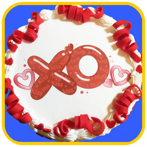 XO Cake - The Office Cake Delivery Miami - Cakes