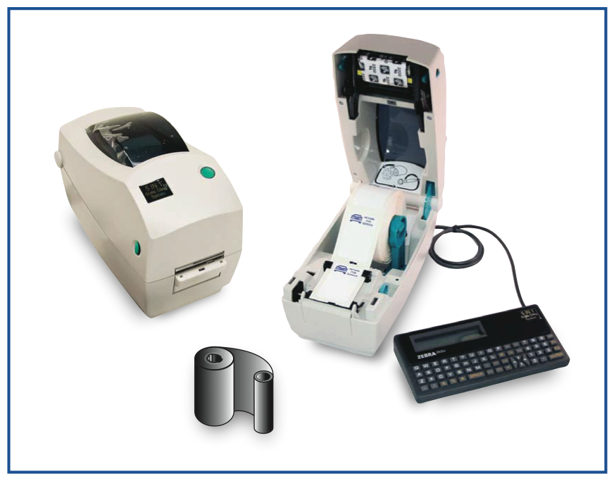 5 In 1 Oil Change And Service Labels Printer System