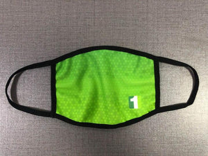 Dye Sublimated Masks With Filter