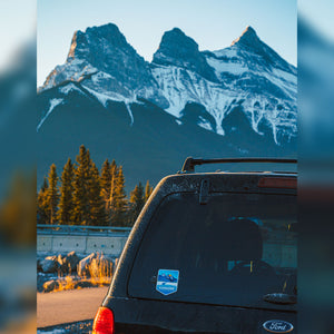 Canmore Vinyl Sticker