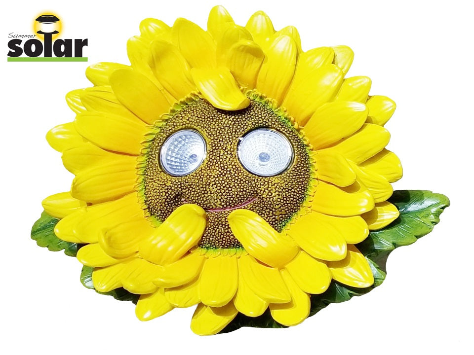 Light up sunflower for garden