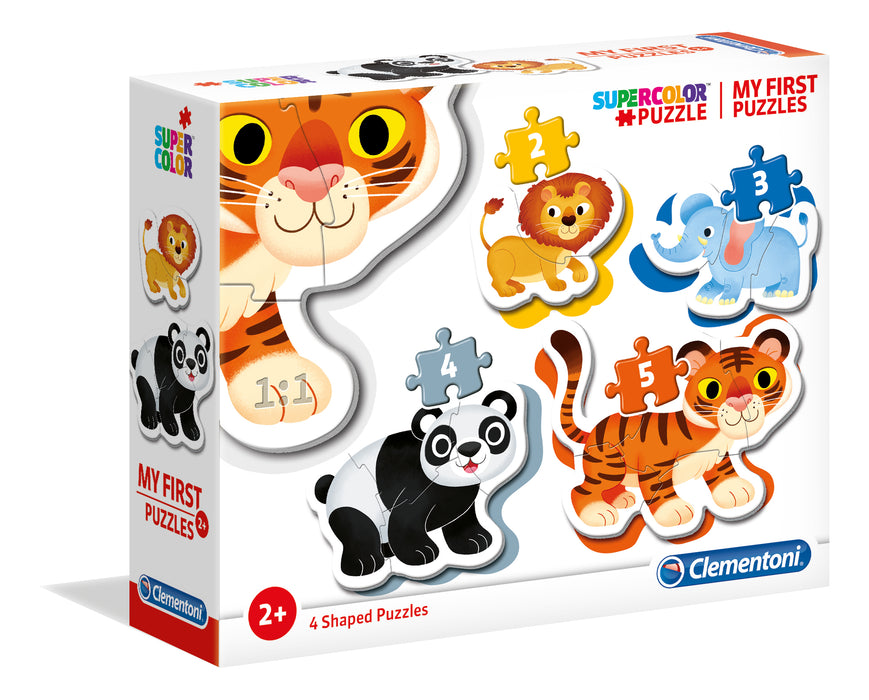 "My first puzzles ""Clementoni"" - Animaux"