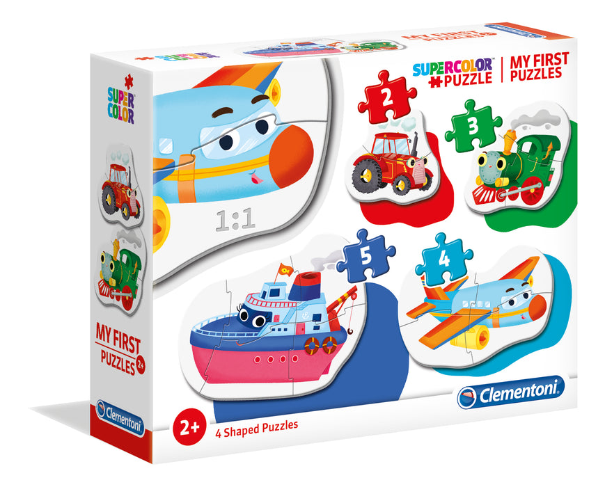 "My first puzzles ""Clementoni"" - Transportation"