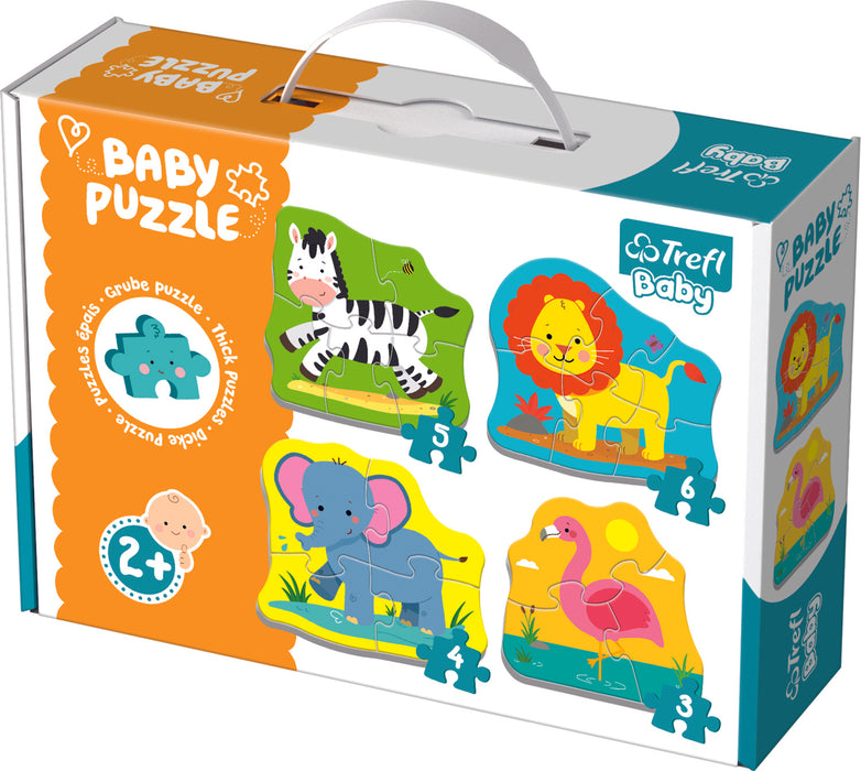 "Children's puzzle ""Trefl"" - Safari animals"