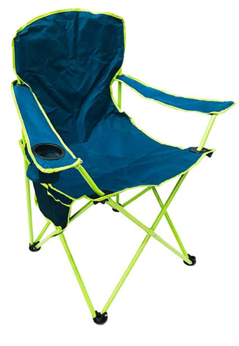 Oversized folding chair and its transport bag