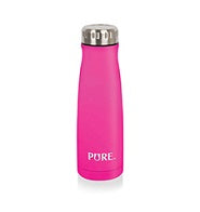 "350 ml insulated bottle ""PURE"" - Neon pink"