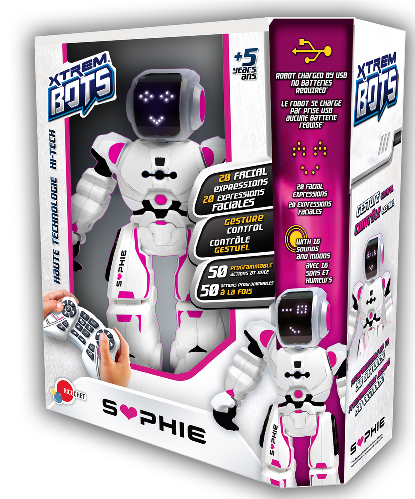 "Extreme robot ""Sophie"" remote control"