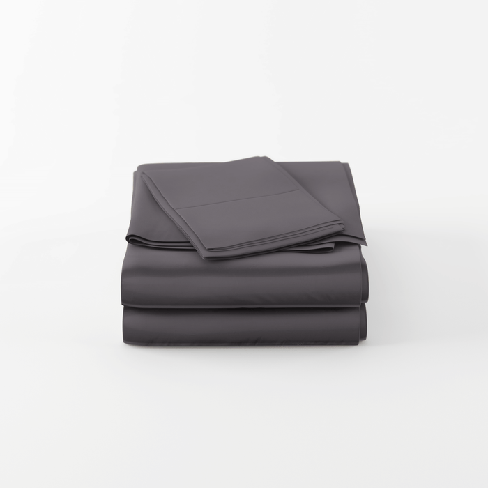 High Quality Bamboo Sheet Set, 320 Thread Count - Charcoal