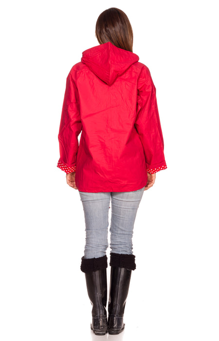 Imperméable pour dame en PVC Thermal-Slicks ™ - Rouge