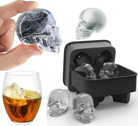 Silicone Skull Ice Cube / Chocolate / Jelly Tray
