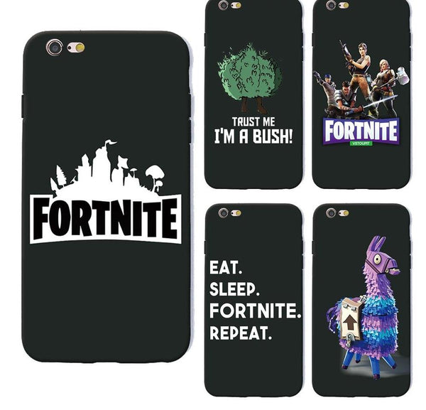 battle royale fortnite phone case for iPhone X 6 7 8 plus 5 5s 6s se for Apple 10 ten TPU