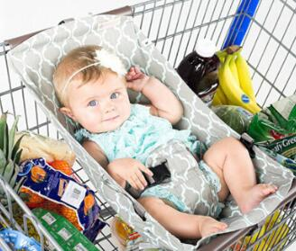 Foldable Baby Hammock For Supermarket Trolleys