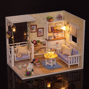 Doll House with LED lights