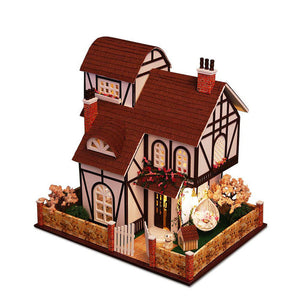 Flower Town Dollhouse with Music