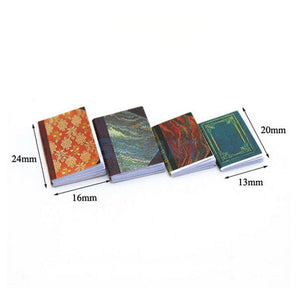 4 Pieces Pretend Play Notebooks