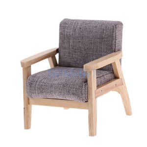 Wooden Single Sofa Chair