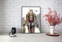 Load image into Gallery viewer, Custom Pet Superheroes Art