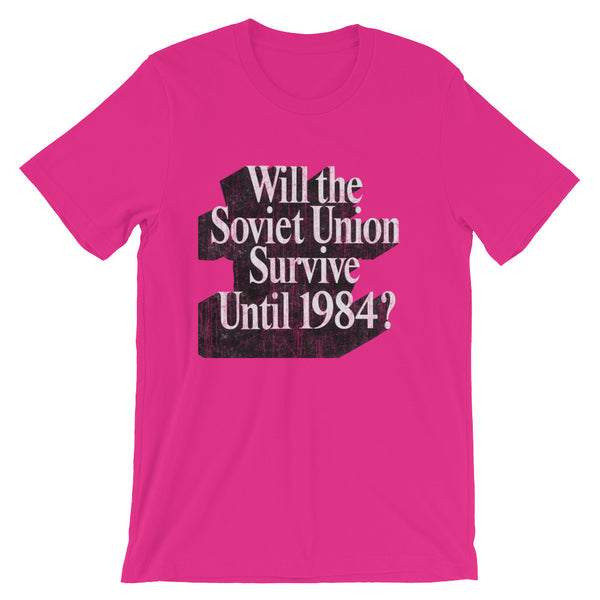 Will the Soviet Union Survive? 80's T-shirt - babbletees